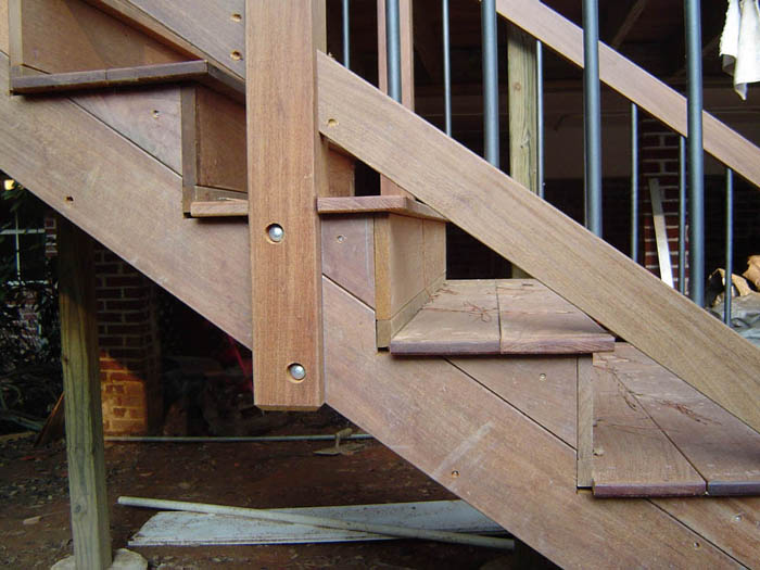 Ipe decking ironwood decking projects for Tongue and groove decking